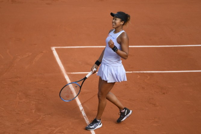 French Open 2019 Naomi Osaka second round
