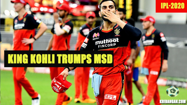 King Kohli Trumps MSD