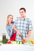 15937119-couple-of-cooking-together