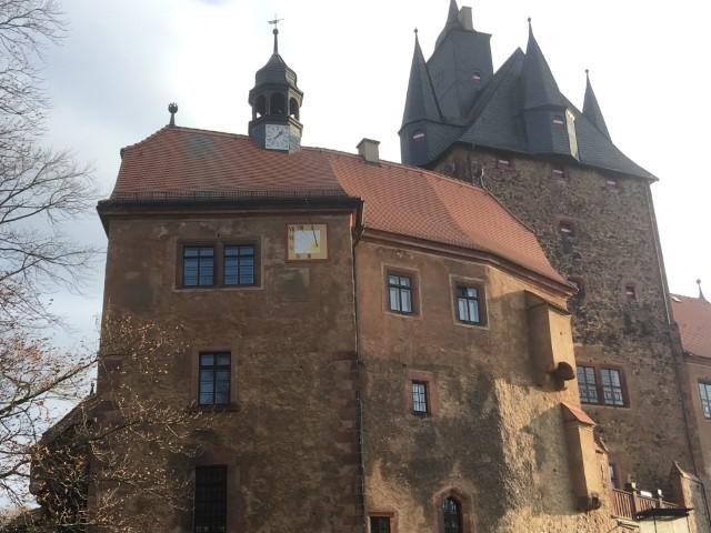 Sonnenuhr Burg Kriebstein