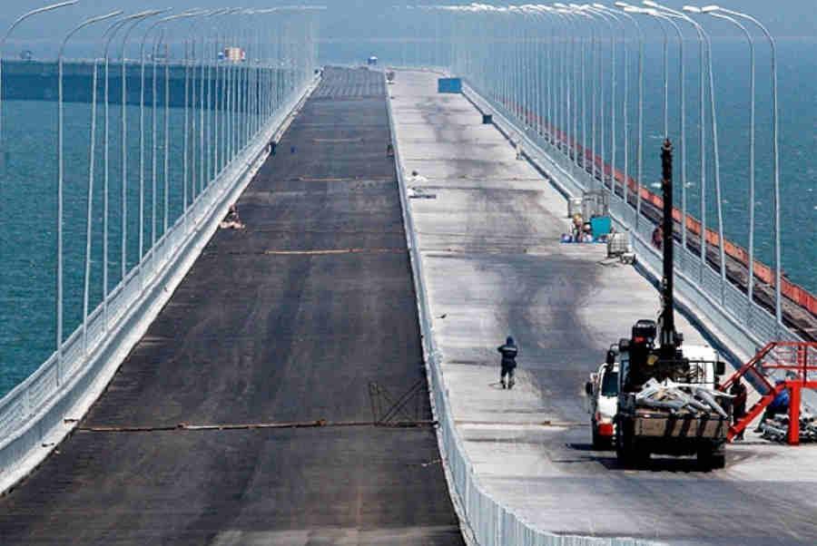 Керченский мост, последние новости: видео, октябрь 2016