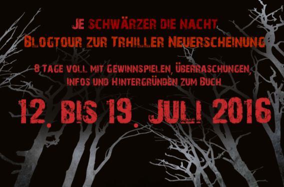 """Banner zur Blogtour """"Je schwärzer die Nacht"""""""