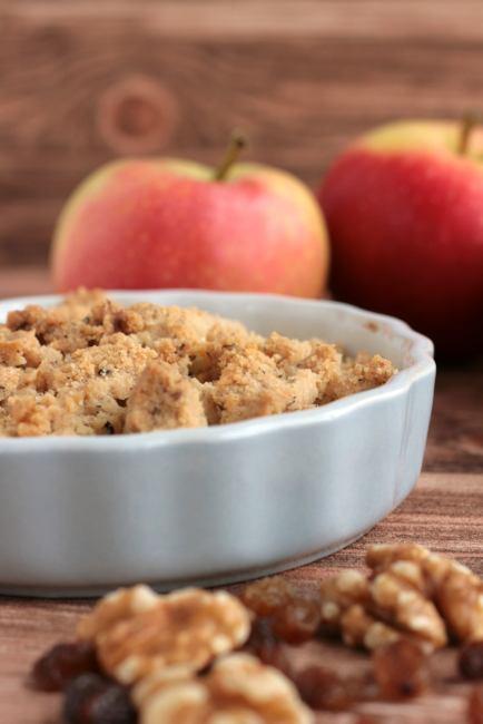 krimiundkeks Apple Crumble Äpfel