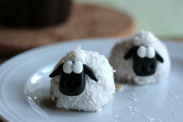 Ostern krimiundkeks Schafe Eierlikörkuchen Shaun das Schaf