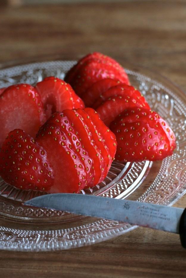 Käsekuchen Erdbeeren Cheesecake krimiundkeks Quark Erdbeerkuchen Mürbeteig