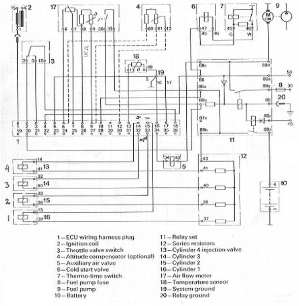 bosch 4 pin relay wiring diagram trane xe1000 heat pump fi conversion