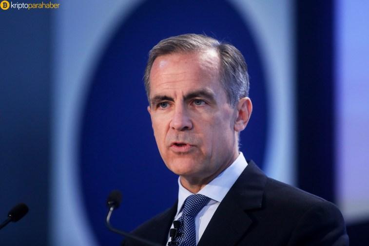 """İngiltere Merkez Bankası Başkanı: """"Kripto paralar risk teşkil etmiyor."""""""
