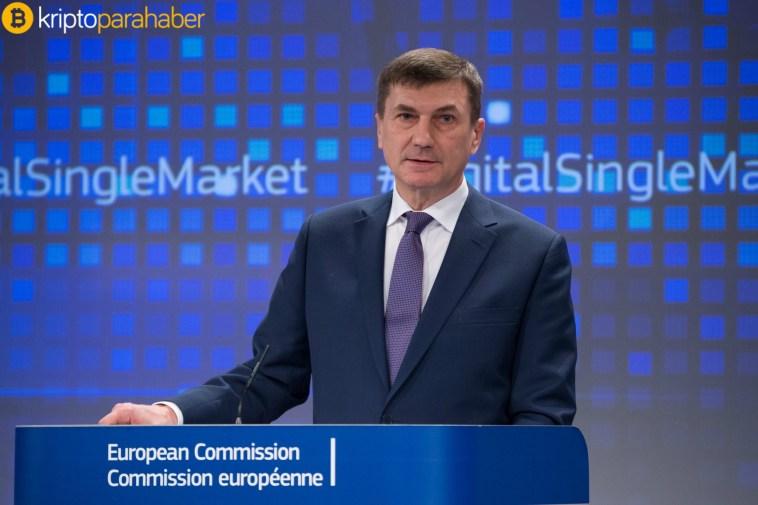 """Avrupa Komisyonu Başkan Yardımcısı: """"Blockchain'e daha fazla yatırım yapmak gerekiyor."""""""