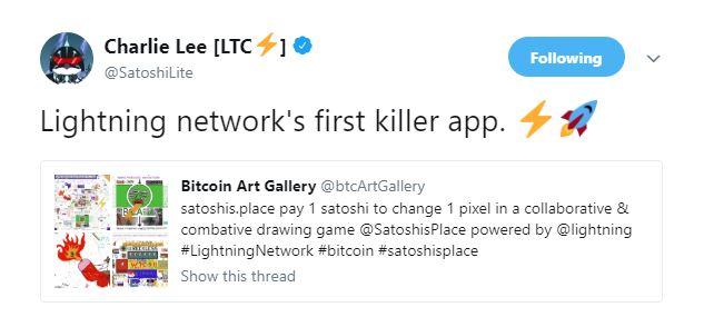 Charlie Lee: Lightning Network Bitcoin ve SegWit için tüm problemleri çözüyor.