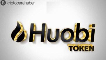 Huobi Token (HT) dün %16,64, geçen hafta ise %69'luk bir sıçrama yaptı