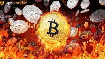 Kripto paraların birbirileriyle korelasyon oranı yüksek
