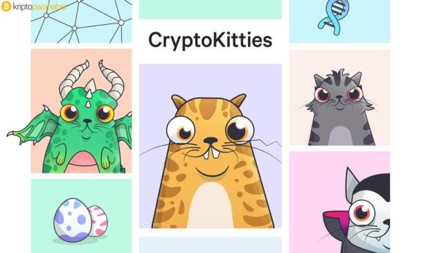 blockchain oyunu Cryptokitties
