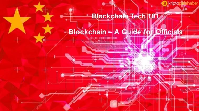 Çin komünist partisi Blockchain rehberi yayınladı