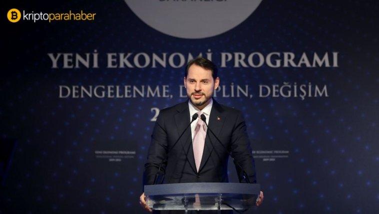 """Berat Albayrak """"Yeni Ekonomik Programı"""" açıkladı"""