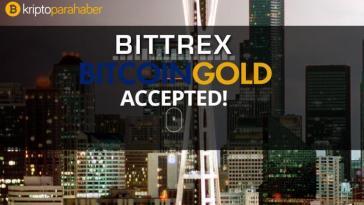 Bittrex Bitcoin Gold (BTG)'u %51 saldırısı nedeniyle çıkardı