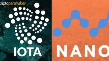 IOTA ve NANO kripto paralarının detaylı incelemesi