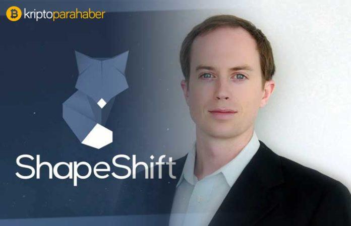 "ShapeShift CEO'su: ""Dokuz ay uzun bir ayı piyasası değil."""