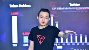 Justin Sun ortaklık yapılacak şirketi takipçilerinin bulmasını istedi