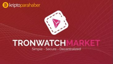 TronWatch Market ve Coin War geliyor
