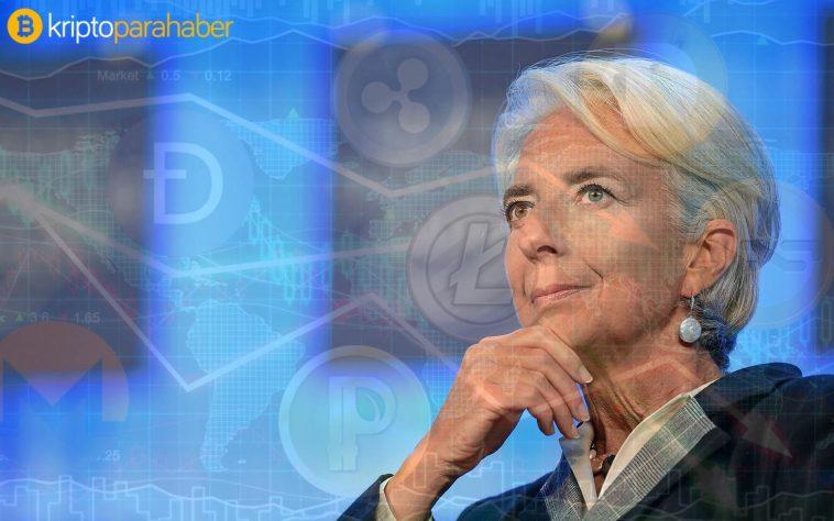 """Christine Lagarde: """"Sektörün düzenlemeye ihtiyacı var."""""""