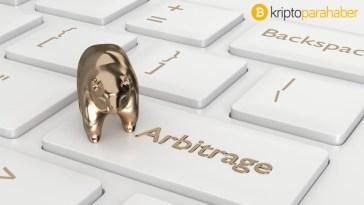 Bugün arbitraj ticareti sunan kripto paralar: XRP, LTC, ETH, BTG, XLM, ONT