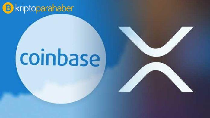 Coinbase, XRP'yiUSD, EUR ve BTC çiftlerinde listeleyecek