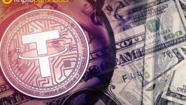 Yasal sorunlarla uğraşan Tether sağlam duruşuyla Bitcoin'e destek oluyor
