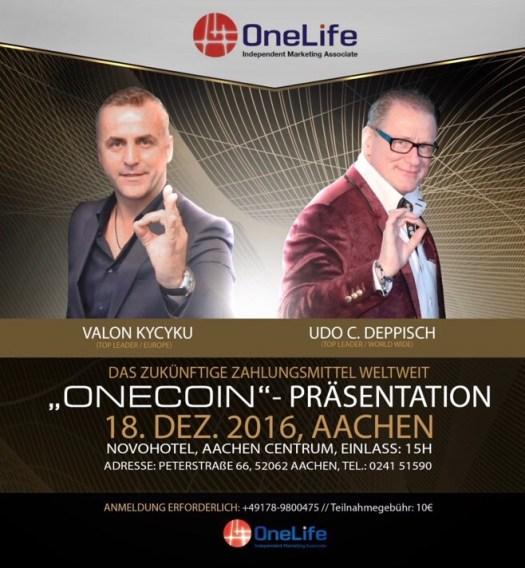 Конференция OneLife, Aachen-18-12-2016