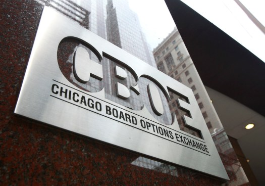 На бирже CBOE стартовали торги биткоин-фьючерсами