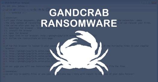 Обнаружен новый вирус-вымогатель GandCrab