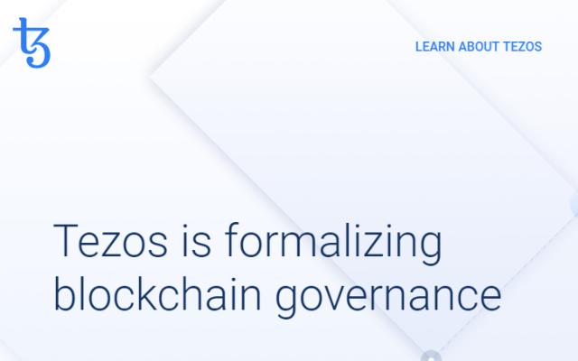 Лучшая криптовалюта 20 марта 2019 - Tezos