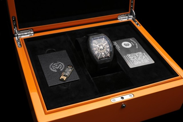 Швейцарская компания представила функциональные биткоин-часы
