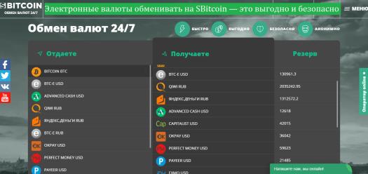 Обмінювати на SBitcoin вигідно і безпечно