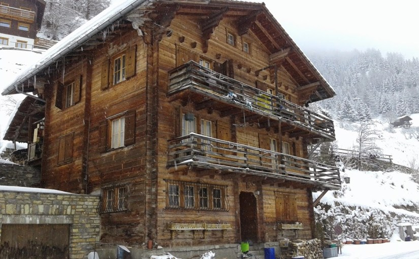 Chalet in Ayer