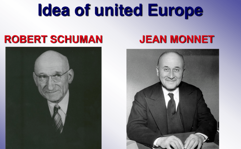 American pushed the creation of European Union