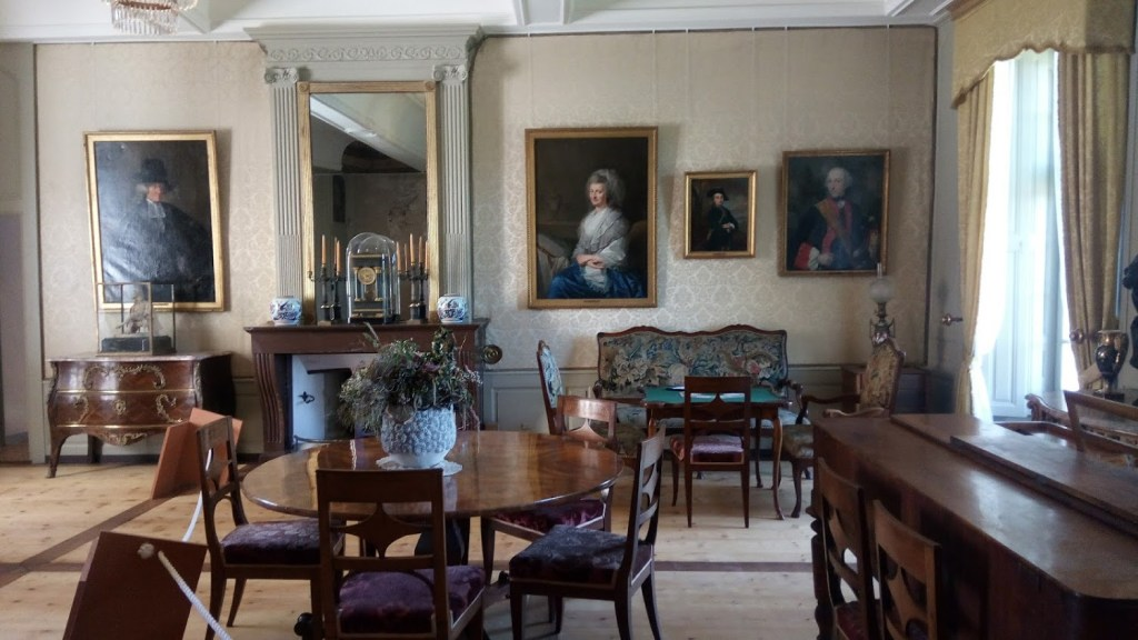 Grand salon du château de La Sarraz