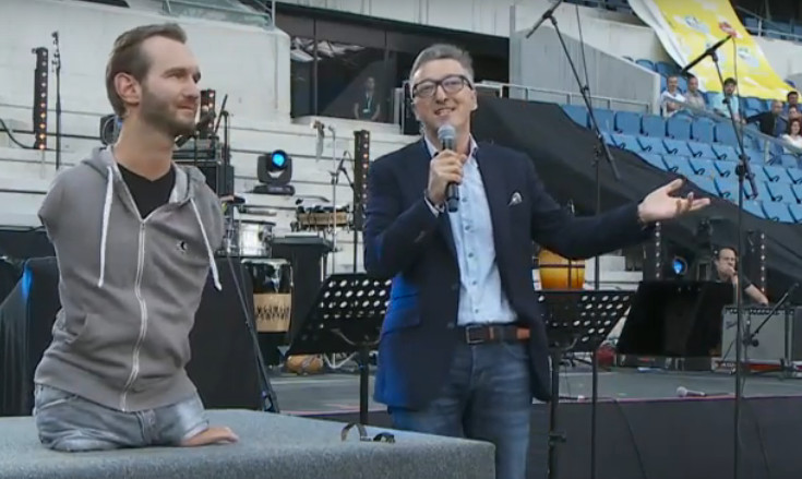 Nick Vujicic in France