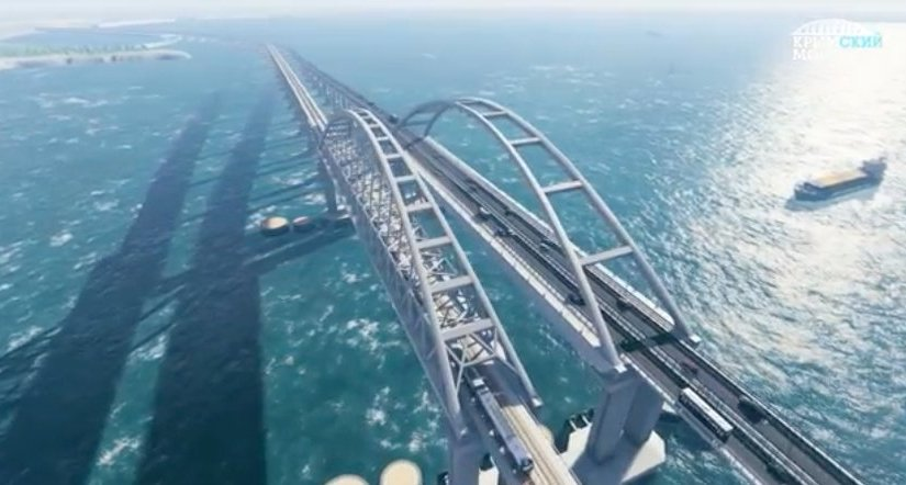 The longest bridge of Europe and Russia open