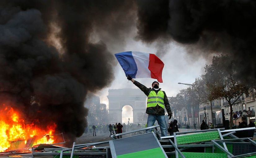 Yellow revolution in France