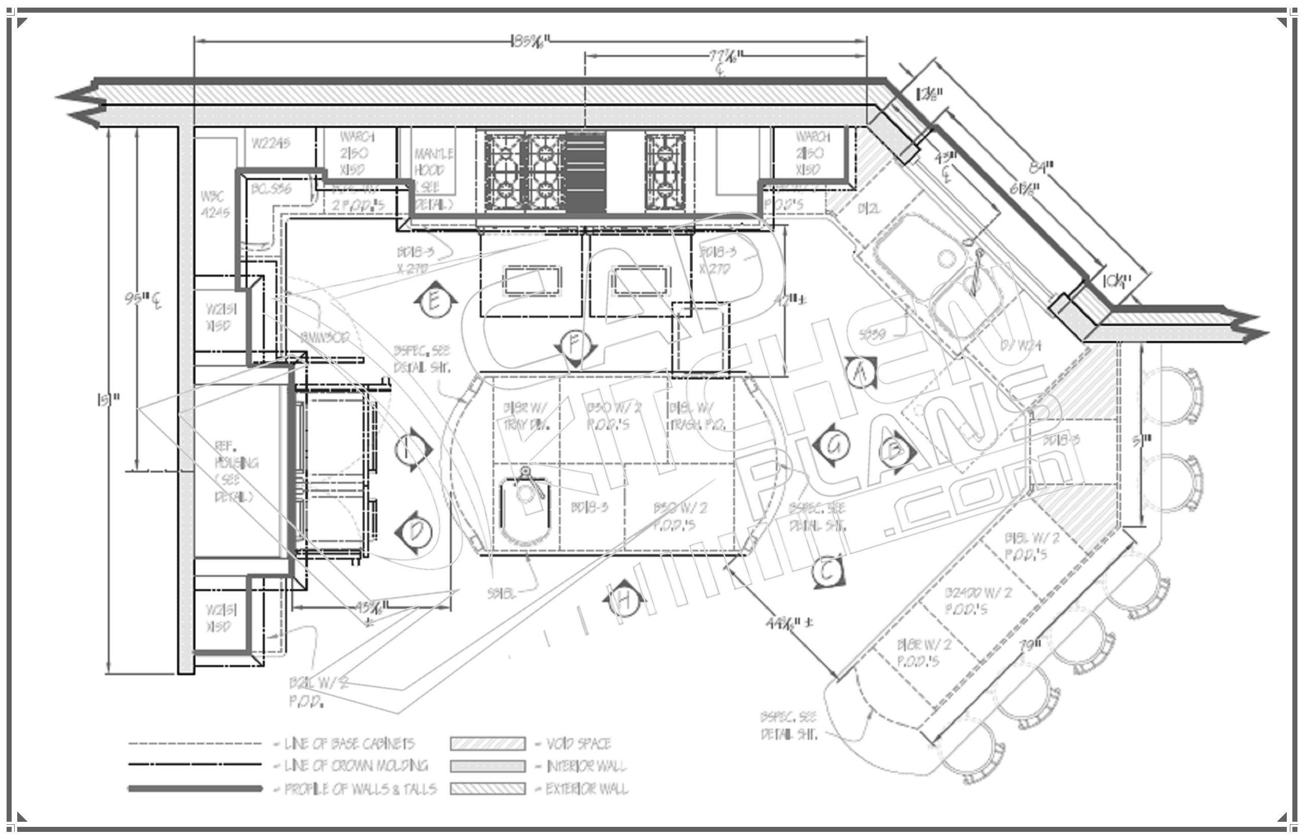 Kitchen Floor Plans