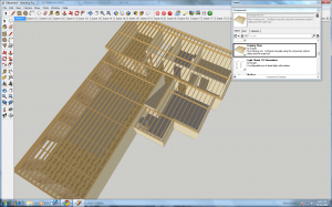 SketchUp Dynamic Component, Framing