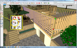 Scaling a Dynamic Component in Google SketchUp