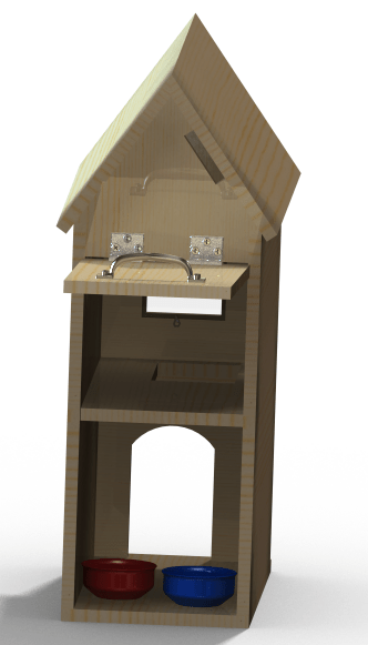 How To Build A Cat House With Drawings Download