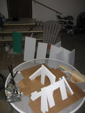 Pet House - Painting In Progress 2