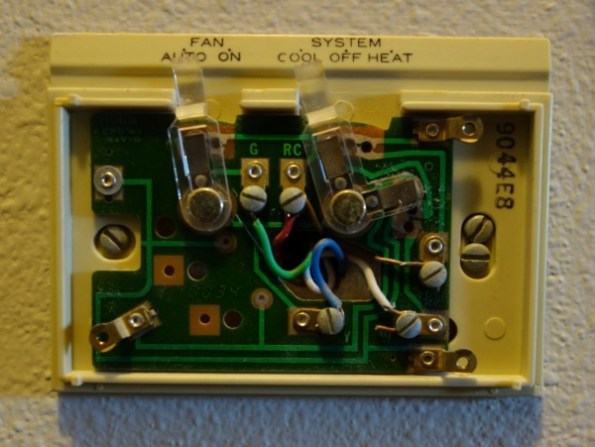 Nest Compatibility, HVAC Controls, Mid 1970s thermostat 3 - back_plate