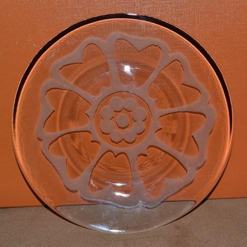 White Lotus plates