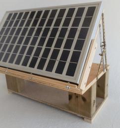 window sill solar panel [ 1024 x 768 Pixel ]