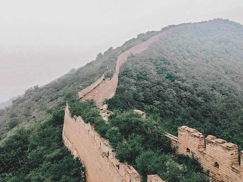 great wall of china seven wonders the world