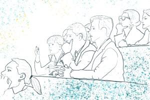 Undervisning, konferanse. Klinikk for krisepsykologi. Psykologsenter Bergen. Psykologfellesskap. Kriseberedskap, krisehåndtering, kriseledelse, krise, traumeterapi, traumebehandling, traumer, kurs, veiledning, undervisning, beredskap, beredskapsavtale bedrift, debriefing, kollegastøtteordning, sakkyndig arbeid, spesialisterklæring, individualterapi, gruppeterapi, parterapi, komplisert sorg, sorgterapi. Etterlatte, død, dødsfall, sosial nettverksstøtte. Sorgprosess. Takle sorg. Sorgsenter. Sorgreaksjoner. Bearbeide sorg. Illustrasjon.