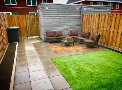Onderhoudsvriendelijke tuin aanleg Alkmaar